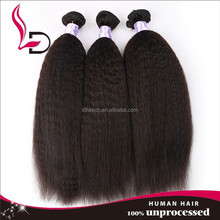 indian remy hair clip in hair extension yaki,perm yaki human hair