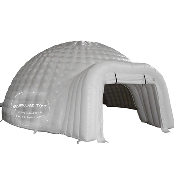 China Custom Cheap Giant Outdoor Party White House Inflatable Igloo Dome Winter Camping Event Tent Price For Sale