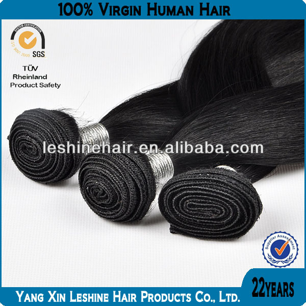 100% human virgin unprocessed natural color low price hot sale chinese remy hair weft