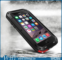 Waterproof Case Dirtproof Shockproof Heavy Duty Hybrid Cover for iPhone 6 Plus with Retail Box Package