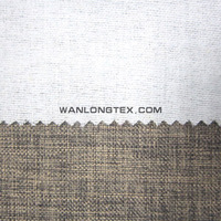 300D-400D Cheap Linen with TC backing fabric for sofa,cushion,curtain hometextile manufacturer
