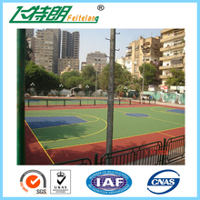 New design indoor pu basketball court covering best quality pu volleyball court with great price