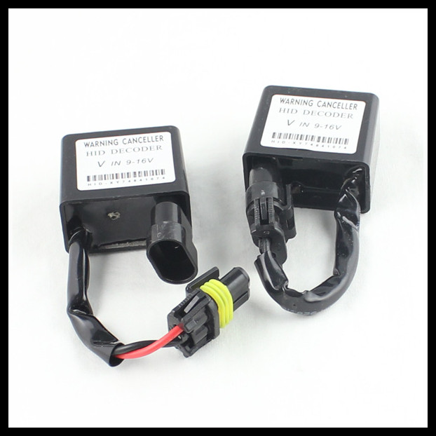 error free hid xenon light warning canceller HID decoder resistor for audi/VW/Peugeot/chevrolet/honda/hyundai