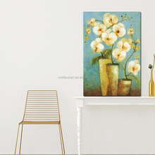Vase Flower Canvas Prints With Wood Frame Large Size For Wall Decoration