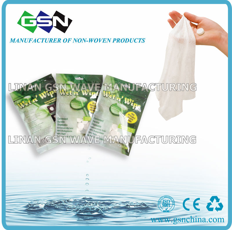 MAGIC COIN TISSUE- Compressed Dry Tissue wipes
