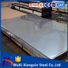China factory supply super mirror finish stainless steel sheet 410 price per kg