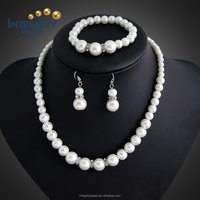 fashion real cultured natural freshwater pearl jewelry sets