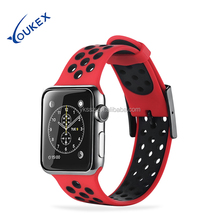 38mm and 42mm Apple Watch Band Silicone, Replacement Strap for iWatch Series 1 and Series 2