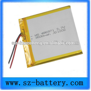 HHS 7.4v 3500mah tablet pc battery rechargeable battery lithium battery