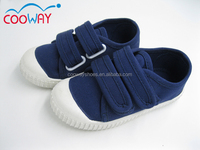 2016 fashion buckle strap kids canvas shoes
