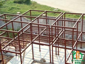 Low cost light steel frame prefabricated apartment