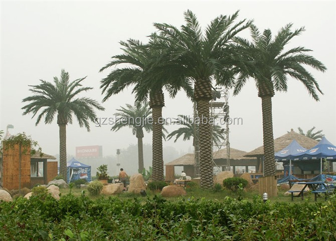 artificial date palm trees for outdoor decoration