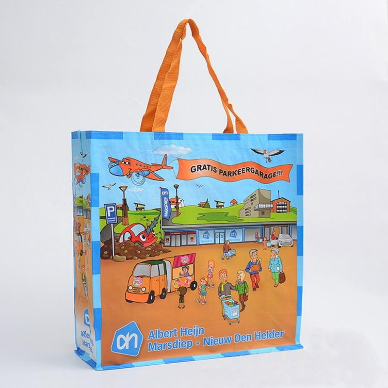 custom foldable large shopping pp woven bag