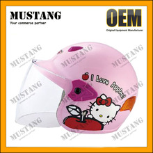DOT ECE Approved Children Motorcycle Half Face Kid Helmets