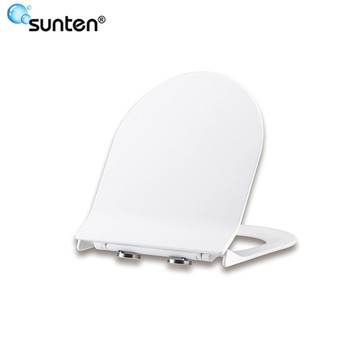 Sanitary Ware Soft Close D Shape Hygienic Toilet Seat With D Shape