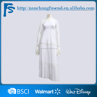 OEM Factory Latest new design Woman Simple long dress