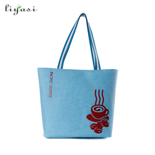 Reusable Cotton Canavs Tote Bag Desinger Grocery Shopping Bags Convenient For Everyday Shopping