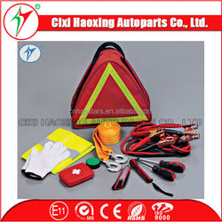Car accessory Safety Kit with Warning Triangle