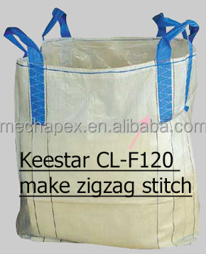 Keestar CL-F120 Single Needle Lock Stitch Container Bag Sewing Machine