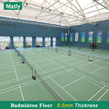 PVC Standard Badminton Court Flooring Sports Flooring