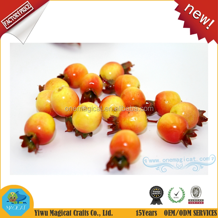 Mini high quality artificial pomegranates fake fruits for home decor