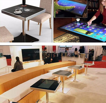 32 inch 43inch 47 inch 55 inch restaurant touch table, touch screen all in one PC for restaraunt