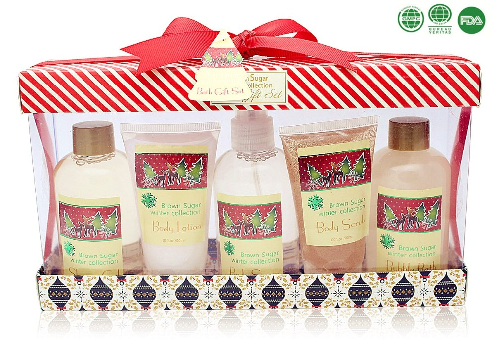Anti-bacterial full set bath gift set shower gel whitening body lotion personal spa gift set