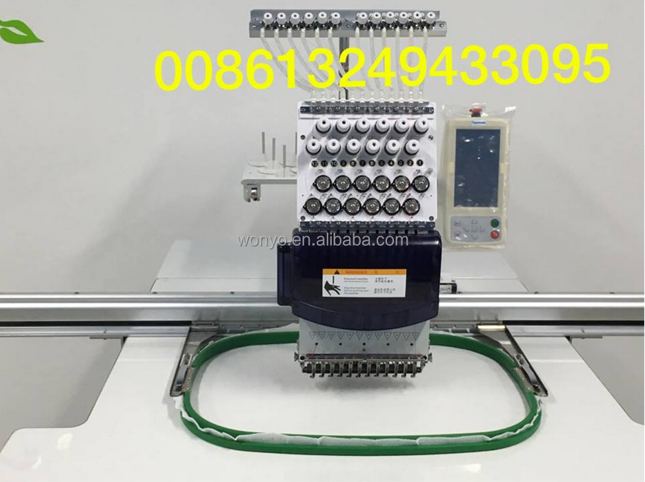 WONYO tajima single head embroidery machine
