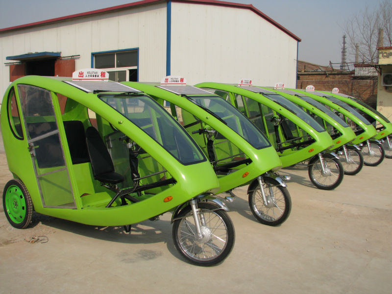 Hybrid tricycle