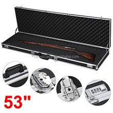 53inch Customed aluminum long rifle gun case,carrying gun case,gun boxes