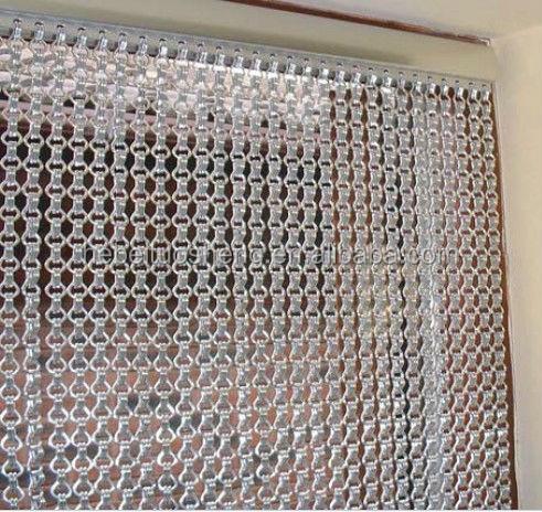 Mode m tal rideau de porte porte en aluminium rideau - Rideau de porte d entree anti mouche ...