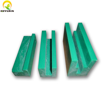 Customized best selling uhmwpe plastic self lubrication guide rail