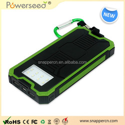 Portable Mobile Power Bank Solar Charger 12000mah