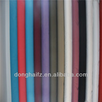 poly cotton fabric spandx satin drill fabric