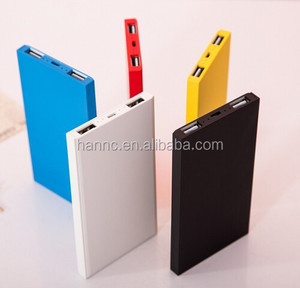 Power Bank 4000mAh Ultrathin polymer Dual USB