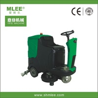 MLEE-850 driveway vacuum sweeper warehouse sweeping machine electric compact street sweeper