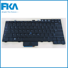 Refurbished WX4JF Laptop US ABS Multimedia Backlit Keyboard For Dell E6410 E6510