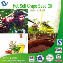 grape seed oil,linoleic acid 60%-80%,pure grape seed oil