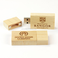 wholesale personalized wooden flash usb 2gb