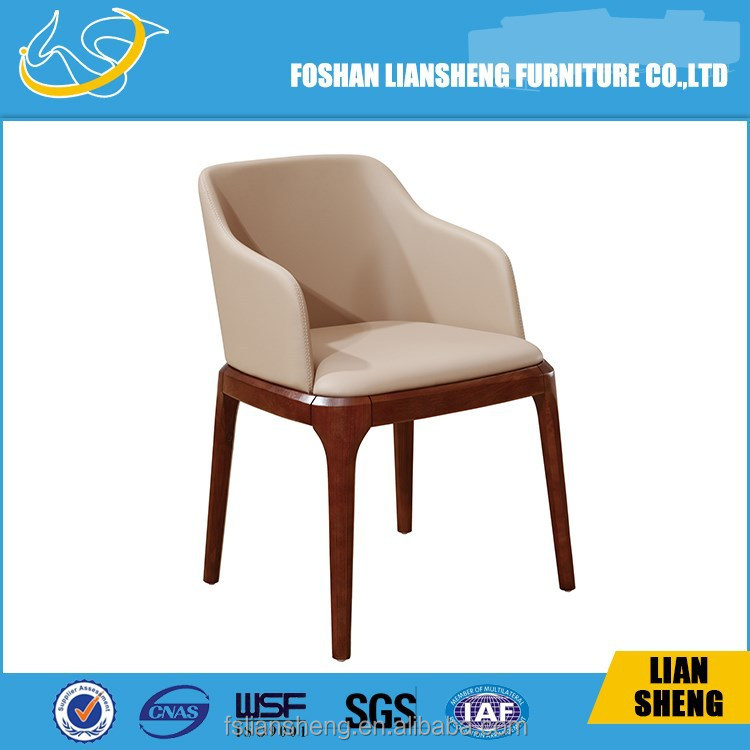 BEAUTIFUL WHITE HIGH GLOSS SOLID WOOD CHAIR DC013-R4031