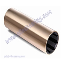 Naval brass sleeve bearing, bronze rubber bush for marine industry,rubber metal sleeve bushing