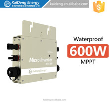 Multiple Output Type DC to AC grid tie solar micro inverter for home distributed solar system