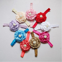 Newest design cute kids hair accessories baby girl rose headband