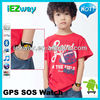 Fashion Kids Wrist Watch Safety SOS GPS Tracker GPS Tracking GSM Bluetooth
