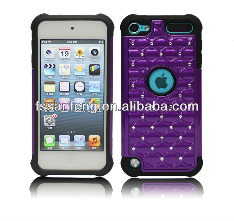 Wholesale Shockproof Case For Ipod Touch 5, Silicone Flip Case for Ipod touch 5