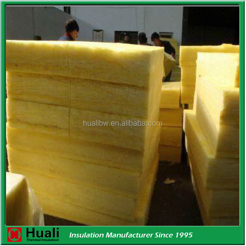 Soundproof fireproof glass wool insulation steel structure building material