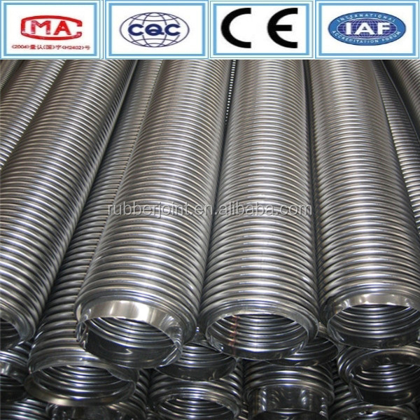 Flexible metal braided hose/stainless steel corrugated pipe