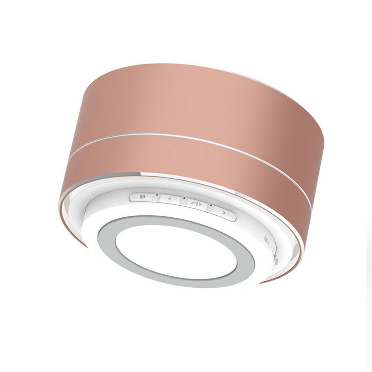 A10 coloré A MENÉ LE MINI Haut-Parleur Bluetooth avec TF USB Sans Fil haut-parleur Portatif de Musique Boîte Haut-parleurs Pour Téléphone - ANKUX Tech Co., Ltd