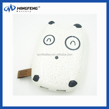 Cute Facial expression power bank 7800mAh external battery charger, face shape power
