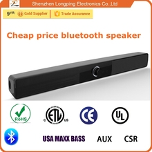Wireless bluetooth soundbar tv soundbar for samsung and iphone 6